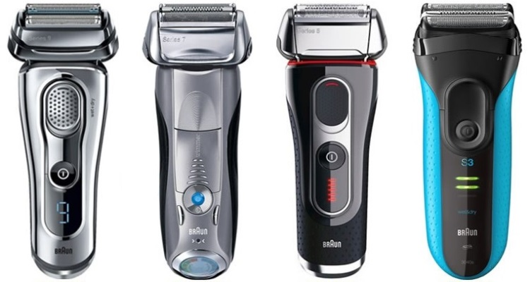 rasoirs électriques Braun