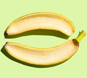 Banana Peel Teeth Whitening Effect